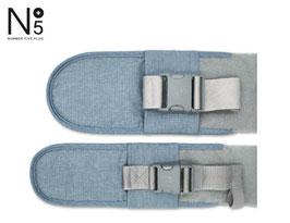 Verlängerungs-Gurt Set - Denim Blue