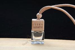 Car perfume vierkant glas incl. geur naar keuze