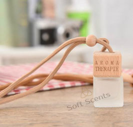 Car perfume vierkant mat incl. geur naar keuze