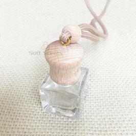 Car perfume vierkant/rond dop incl. geur naar keuze