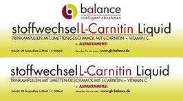 Stoffwechsel L-Carnitin Liquid
