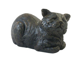 "PET017 Liegende Katze *AUSLAUFMODELL"""