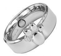 E-1385 Magnet Ring Pfote
