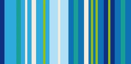 Reflex Streifen Blau