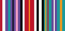 Reflex Panel Streifen Mint