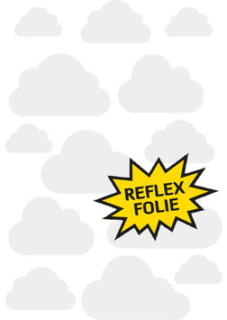 Reflective Sticker Set Cloud