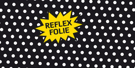 Reflex Panel Polka Dot Schwarz