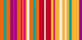 Reflex Panel Streifen Orange