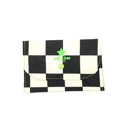 Mini Pochette / Drapeau de course