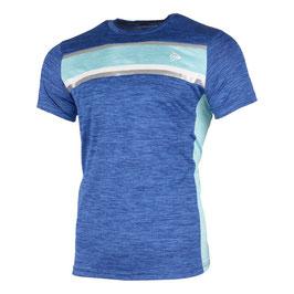 Crew T-Shirt Herren - Blau, Türkis
