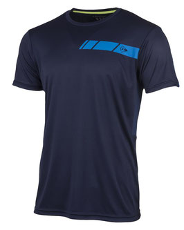 Crew T-Shirt Herren - Dunkelblau, Blau