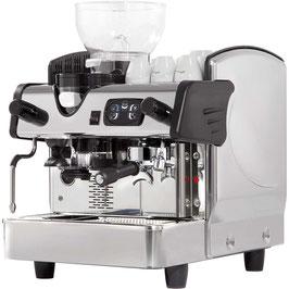 """Eingruppige Siebträgermaschine mit Kaffeemühle """"Abu Dhabi"""""""