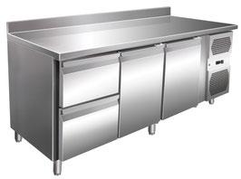 Kühltisch mit zwei Türen & zwei Schubladen -45% Billiger