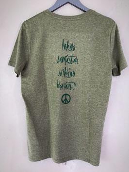 Lokah Samastah Sukhino Bhanantu Organic Shirt Männer