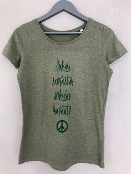 Lokah Samastah Sukhino Bhanantu Organic Shirt