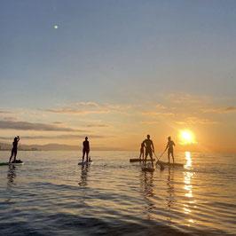 Sunrise Stand Up Paddling & Beach Workout