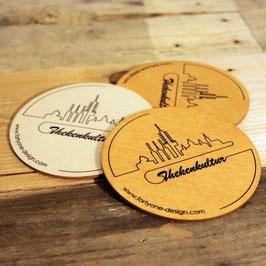 Bierdeckel - 4er Pack - Thekenkultur Linie