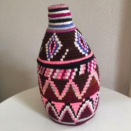 Berber Korb Braun Bunt