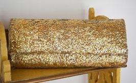 Pailetten-Clutch GOLD