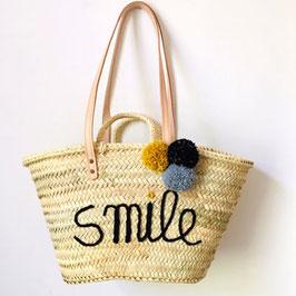 Korbtasche SMILE