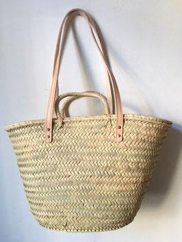Korbtasche BASIC mit Handgriffen, groß