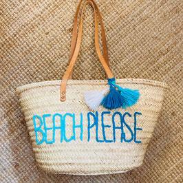 Korbtasche BEACH PLEASE