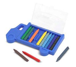 Crayolas en estuche de camión