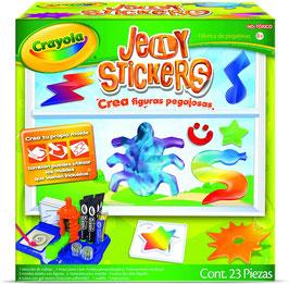 Jelly stickers figuras pegajosas