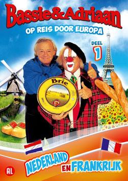 Op reis door Europa - deel 1 'Nederland en Frankrijk'