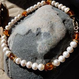 Bernstein-Perlenkette