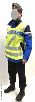 Gendarme hiver 2020 + chasuble fluo