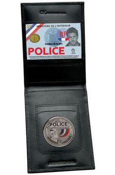 Porte carte + médaillon