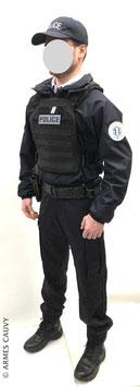 Police hiver 2020 + gilet balistique