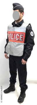 Police hiver 2020 + chasuble fluo