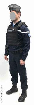 Gendarme hiver 2020 + gilet balistique