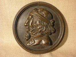 BR-B-1011-480  Bronzenrelief, Erotika