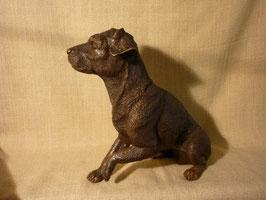 BR-C-1010-480 sitzender Hund