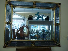 MO-A-0113-3000  Spiegel mit Facettenschliff