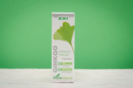 Extracto de ginkgo biloba Soria Natural - 50ml