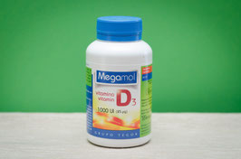 megamol vitamina d3 - 100 cápsulas