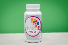 Vitamina E 400UI Plantis - 50 cápsulas