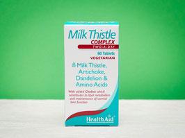 Milk Thistle - Cardo mariano complex healthaid - 60 tabletas