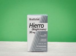 Hierro bisglicinato healthaid - 30 comprimidos