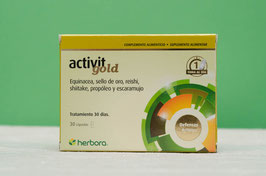 activit gold Herbora - 30 cápsulas