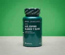 Ajesol - Ajo, espino blanco y olivo Herbora - 60 perlas