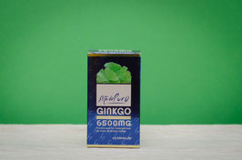Ginkgo biloba 6500mg estado puro - 40 cápsulas