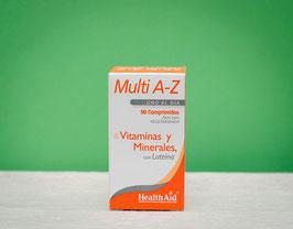 Multi A-Z Healthaid - 90 comprimidos