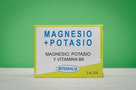magnesio + potasio integralia - 60 cápsulas