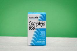 Complejo B50 Healthaid - 30 comprimidos