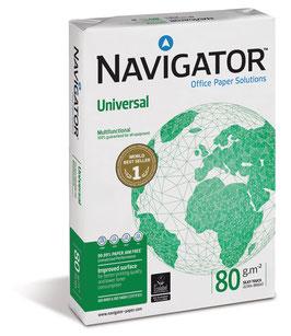 PAQUETE FOLIOS A3 NAVIGATOR UNIVERSAL 80 gr